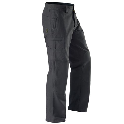E1160 Black Chizeled Cargo Pants with Knee Protection