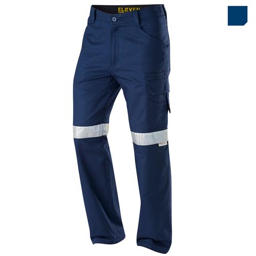 E1170T Navy AeroCool Ripstop Pants with Perforated Tape