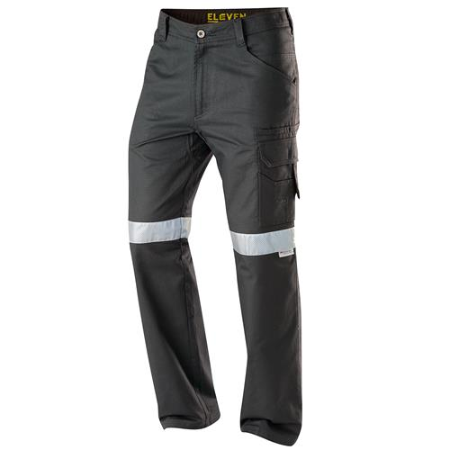 E1170T Navy Aerocool Ripstop Pants Perforated 3M™ Scotchlite™ Reflective Tape