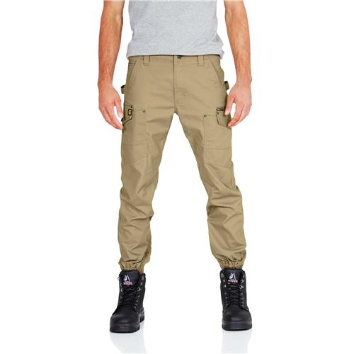 E1180 Stove Pipe Combat Cargo Pants On Body