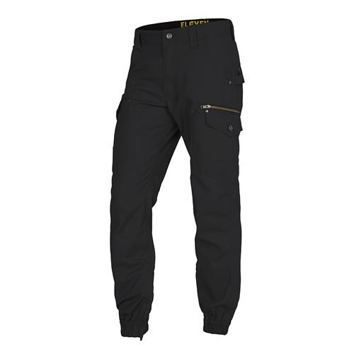 Combat Cargo Stove Pipe Pants - Black