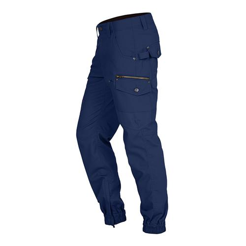 Combat Cargo Stove Pipe Pants - Navy