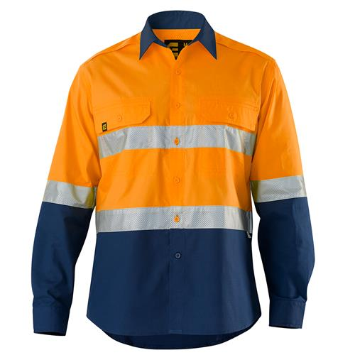 Hi Vis AeroCool Shirt with Perforated Tape