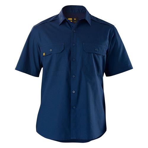 E1373 Navy AeroCool Work Shirt