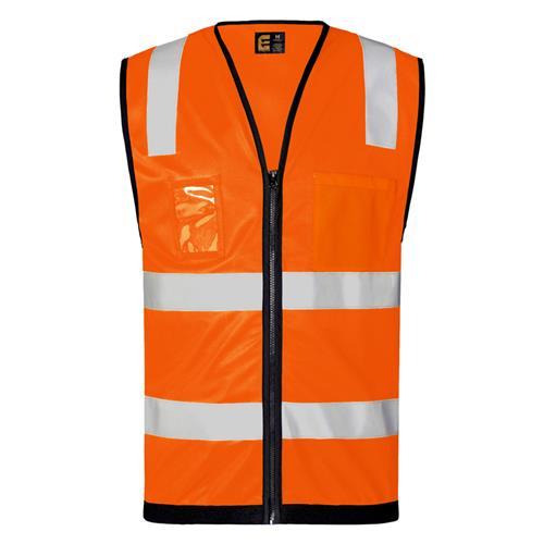 Hi Vis DayNight Vest with Zip