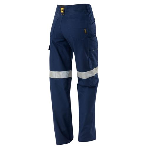 E2170T Women's Navy AeroCool Pants with Perforated Tape