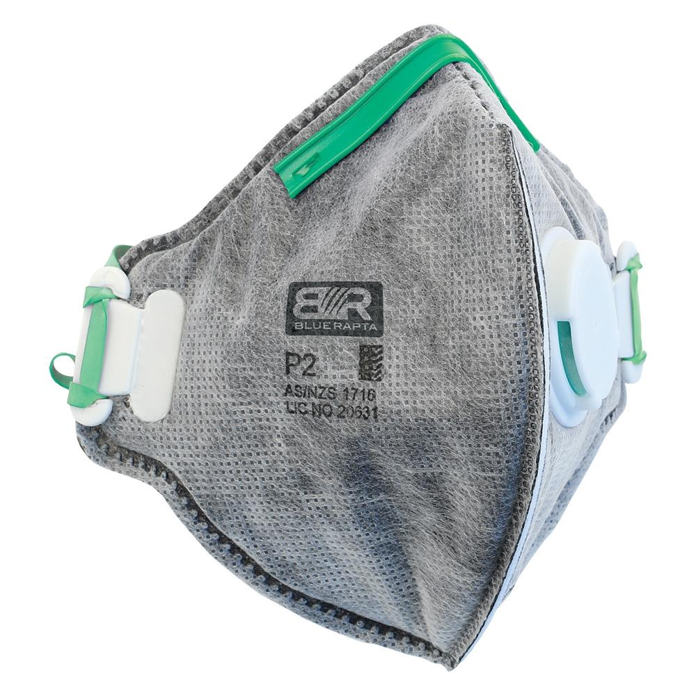 Carbon activated disposable respirators