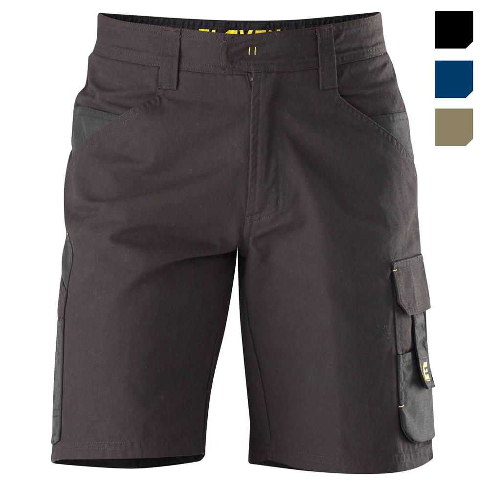 E1250 Black Chizeled Shorts with Cordura