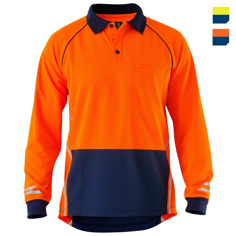 E1420S Hi Vis Cool Polo Shirt
