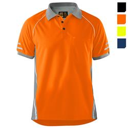 AeroCool Orange Polo Shirt