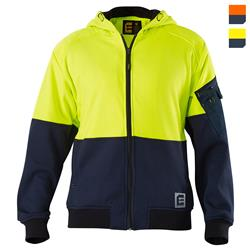 Evolution Hi Vis Hoodie - Yellow Navy