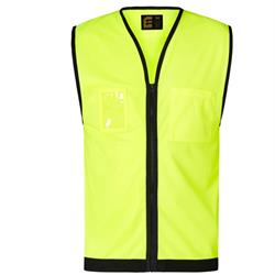 Hi-Vis Day Vest with Zip