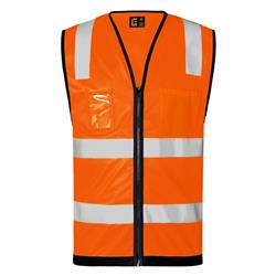 Hi-Vis Day/Night Vest with Zip