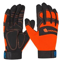 Blue Rapta Monarch Hi-Vis Mechanic Gloves