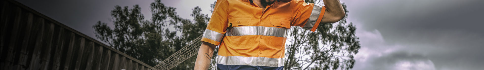 <p>ELEVEN Workwear Shirts are designed to withstand the harsh Australian climate - keeping you protected and comfortable all day long.&nbsp; Our shirts have a sun shield collar and are made using mechanical stretch fabric. Our non-High Vis styles are prewashed for added comfort while our Polo Shirts have a ventilated collar to help you stay cool. These are just a few of our standard features.&nbsp;</p>